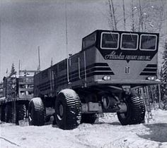 54-wheel-drive: The LeTourneau electric arctic land train