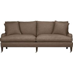 Essex Sofa with Casters in Sofas | Crate and Barrel $2199