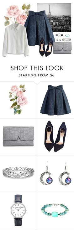 """""""Mosaic Pattern"""" by chicwish ❤ liked on Polyvore featuring Chicwish, Vince, Christian Dior, Effy Jewelry, women's clothing, women's fashion, women, female, woman and misses"""