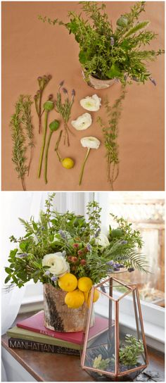 Use Herbs for a Beautiful Bouquet #floralarrangements