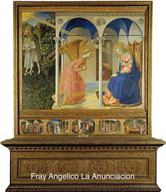 Fra Angélico. La Anunciación.