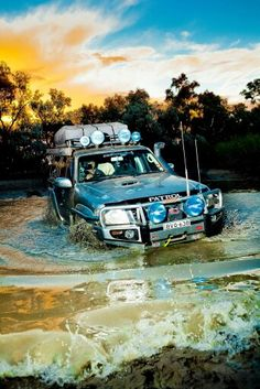Off Road Truck Accessories, Best 4x4 Cars, Nissan Patrol Y61, Cars Toons, Patrol Gr, Nissan 4x4, Expedition Vehicle, Fish Camp, Jeep Stuff