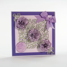 Beautiful Blooms - Apple Blossom - 1290E Tonic Cards, Studio Cards, Paper Flowers, My Design, Projects To Try, Bloom, Studios, Frame, Pretty