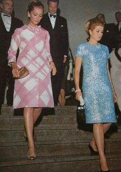 Grace Kelly on right