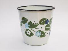 Enamel Cup Flower, $14