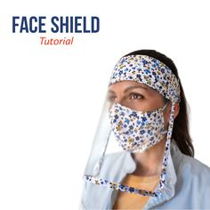 Easy Face Masks, Homemade Face Masks, Diy Face Mask, Sewing Class, Fashion Face Mask, Diy Mask, Sewing Techniques, Sewing Patterns Free, Mask For Kids