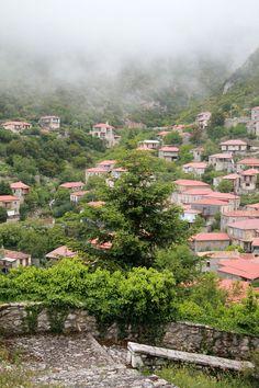 Αρκαδία Στεμνίτσα Corfu, Crete, Santorini Villas, Myconos, Greek Beauty, Mountain Village, Fantasy Landscape, Greek Islands, The One