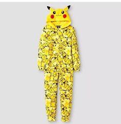 #Pokemon Boys 039 Blanket Sleeper #Pikachu Pajamas w Hoodie Kid Size M 10 12 New | eBay