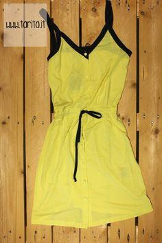 Tarita S/S 2013.   Sessùn, bicolor cotton dress.