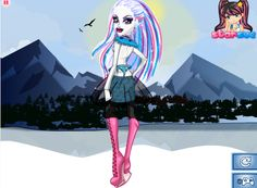 #Abbey Bominable Style Monster High Games