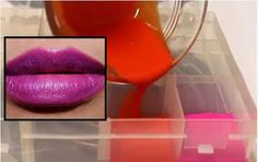 ΥΓΕΙΑ ΚΑΙ ΟΜΟΡΦΙΑ: DIY: Πως να φτιάξεις μόνη σου στο σπίτι ένα MAC κρ... Make Up, Lipstick, Beauty, Lipsticks, Makeup, Maquiagem