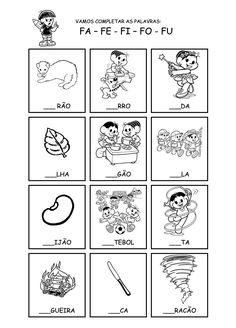 Família silábica - K                         Álbum de figurinhas                                                                          ...