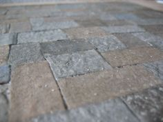 how to: miniature faux stone floor from egg cartons