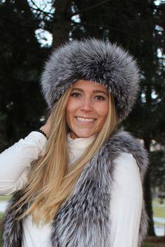 New Christmas Wolf Faux Fur Ski Winter Headband Head Band Cossack Hat £20