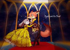 Zootopia x Beauty And The Beast