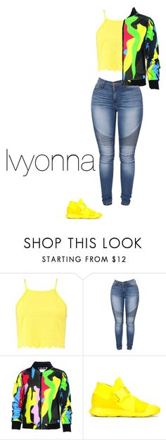 """""""Untitled #76"""" by davionna25397 on Polyvore featuring Boohoo, Dear Deer and Christopher Kane"""