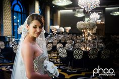 Wedding planned and styled by Weddings by Diane Khoury recent bride wearing J'aton couture