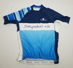 b6d0670b Starlight Apparel Pro+ Cycling Jersey Independent Velo Mens Size Large