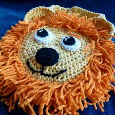 Lion Drool Spit Bib #crochet pattern by Darleen Hopkins