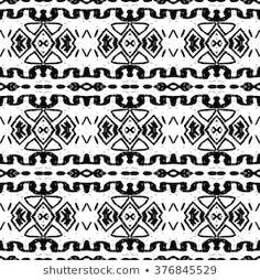 Image vectorielle de stock de Navajo Aztec Border Vector Illustration Page 259728050 Vector Logo Design, Color Vector, Tribal Patterns, Cool Patterns, Aztec Tribal Tattoos, Zigzag Line, Navajo Print, Border Pattern, Aztec Designs