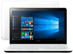 Notebook Vaio Fit15F Intel Core i5 - 8GB 1TB Windows 10 LED 15,6 HDMI Bluetooth 4.0