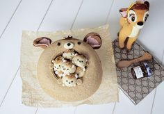"Agnes iing💋 on Instagram: ""Bambi Cake with Marshmallow🦌🧡🧡cuteness overload バンビ 小鹿斑比棉花糖 . . . #手作り #foodie #foodstagram #foodstyling #foodnetwork #cakedecorating…"" Kawaii Dessert, Egg Cake, Cheesecake Pie, Tsumtsum, Gift Cake, Chiffon Cake, Sponge Cake, Cute Cakes, Cute Food"
