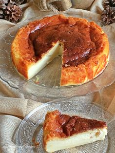receta-pastel-vasco Food N, Food And Drink, My Favorite Food, Favorite Recipes, Almond Cakes, Desert Recipes, Sin Gluten, Cheesecake Recipes, Cake Decorating
