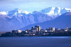 Now with a population of 277,000 Anchorage is Alaska's largest city with 42 percent of the state's population.