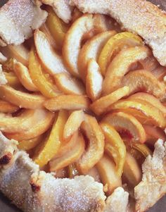 GALETTE OF WHITE PEACHES AND TOMATOES - Rare Forms by Amy Goldman