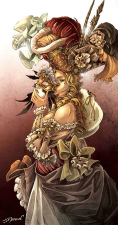 Behind the Mascarade Masquerade Ball, Fantasy World, Game Art, Board Games, North America, Graphic Art, Illustration Art, Photos, Victorian