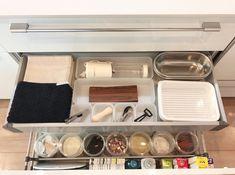 下がり天井が空間を仕切るキッチン。_____mariagramさんのキッチンを探索!【一条工務店 スマートキッチン(ワイドカウンター)】 | ムクリ[mukuri]