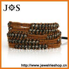 -Jewelry DIY Leather Wrap Friendship Bracelets For Men ...