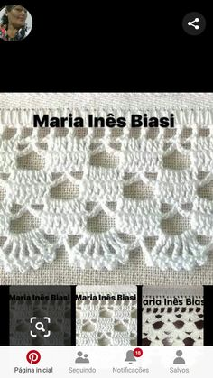 Most popular Crochet and Knitting Tejido Patterns and Crochet Border Patterns, Crochet Boarders, Crochet Motif, Crochet Doilies, Easy Crochet, Crochet Lace, Gilet Crochet, Cotton Crochet, Irish Crochet