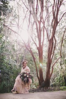 Intimate Southern Forest Elopement   Photos