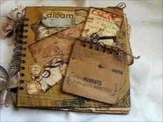 Love this album - Et Cetera Chipboard Mini Album