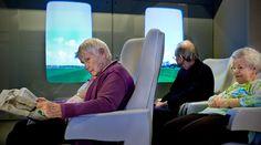 Rust en afleiding vinden in de trein, zonder erop uit te hoeven - Innovatiekring Dementie - IDé