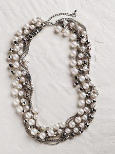 Ulla Popken Women's Twisted Pearl &...    $24.00