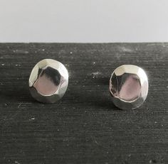 Large Studs 925 Sterling Silver Earrings by Sirrý Design