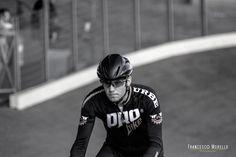 Rider: Gian Luca Bassi. Il tempio di Milano... Il Velodromo Maspes Vigorelli! Great shot by Francesco Morello