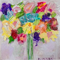 "'Sweet Nothings' - 30"" x 30"" by Christy Kinard♥♥"