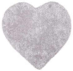 Tom Tailor Soft - Heart Grey Rugs | Modern Rugs