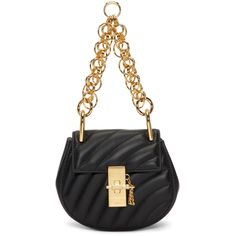 Shop from luxury labels, emerging designers and streetwear brands for both men and women. Black Shoulder Bag, Shoulder Strap, Shoulder Bags, Chloe Clothing, Streetwear Brands, Luxury Fashion, Accessories, Women, Shoulder Bag