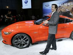 How Ford revealed new 2015 Mustang around the world