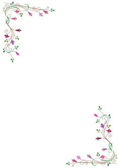 frame fleurs | Free Clipart: Floral frame | Flowers