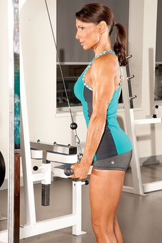 If your triceps are lagging, it's time to get down and dirty with giant sets.