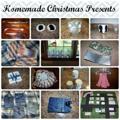 DIY Christmas Presents including decoupaged candle holders, beach-themed candles and candle holders, fabric car play mat, jean pocket purses, duct tape wallets, fort kits, crocheted wash cloths, silhouette candle holders and Christmas ornaments, no-slip bookmarks, iPod case, and pillowcase dress.  There are links to the tutorials for almost everything.