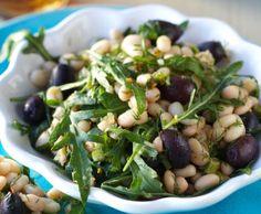 Salad recipies: bean salad/valkopapusalaatti