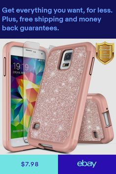 For Samsung Galaxy Case Galaxy S5 Case, Samsung Galaxy S5, Used Iphone, Iphone Cases, Games For Girls, Screen Protector, Cell Phone Accessories, Phones, Ebay