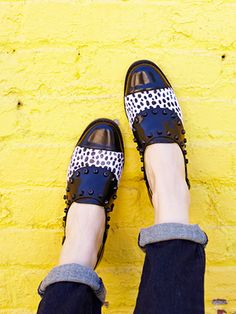 How can you resist a cute dalmatian print? Homestretch from BC Footwear