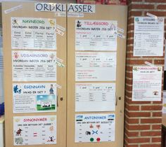 "Opdatering af ""Ordklasse-skabet"" i 4 klasse. Cooperative Learning, Happy Boy, 13 Year Olds, Language, Classroom, Teaching, Education, School, Grammar"